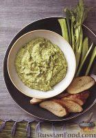 Фото к рецепту: Закуска из авокадо и сыра фета