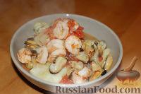 Фото к рецепту: Рагу с морепродуктами