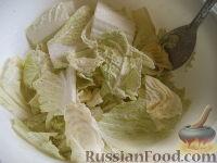 Фото приготовления рецепта: Салат из пекинской капусты - шаг №6
