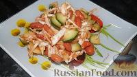 Фото к рецепту: Салат из фасоли, капусты и огурцов