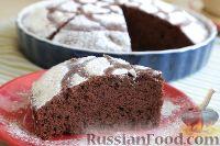 Фото к рецепту: Постный шоколадный пирог