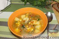 Фото к рецепту: Овощной суп