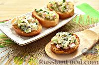 Фото к рецепту: Бутерброды на праздничный стол