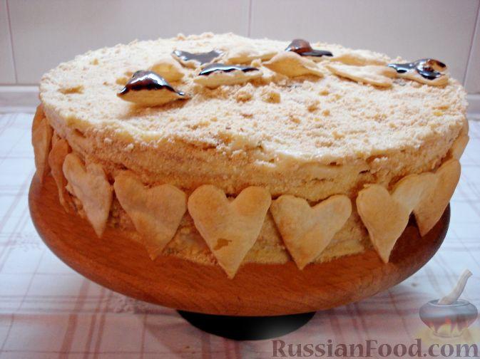 Вкусный торт наполеон фото сом