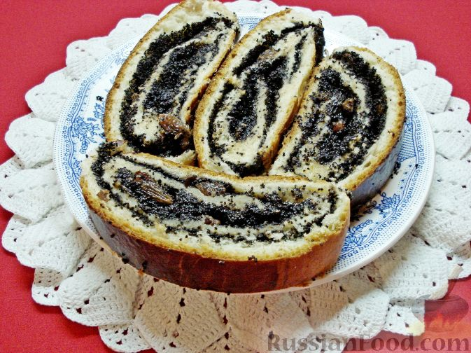 Дрожжевое тесто для макового пирога