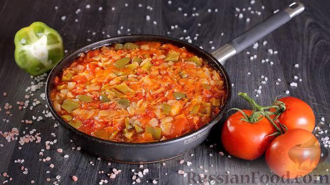 Фото приготовления рецепта: Картошка, запечённая с тыквой, в кефире - шаг №8