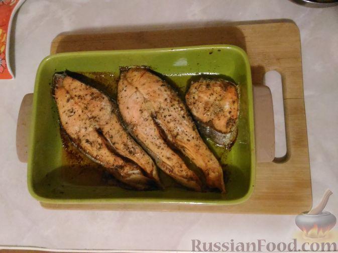 Фото приготовления рецепта: Квашеная капуста, запечённая с мясом (в рукаве) - шаг №8