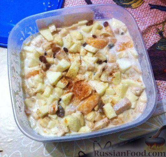 Фото к рецепту: Вкусный фруктовый салат