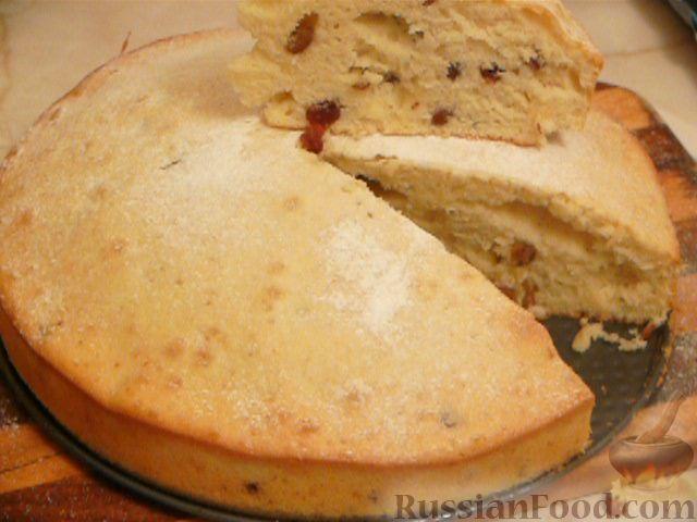 Пирог с молока рецепт