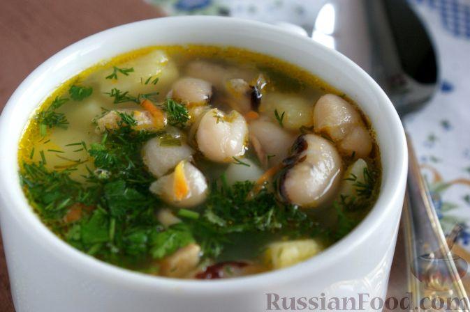Рецепт супа из красной консервированной фасоли 18