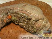 Фото приготовления рецепта: Язык по-царски - шаг №7