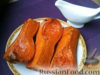 Фото к рецепту: Печеная тыква сладкая