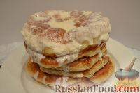 Фото к рецепту: Пышки со сметаной