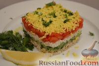 Фото к рецепту: Слоеный салат с куриной грудкой