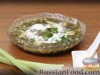 Фото к рецепту: Зеленый борщ