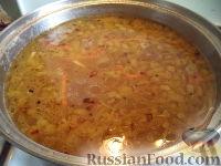 """Фото приготовления рецепта: Суп чечевичный  """"Остановиться невозможно"""" - шаг №9"""