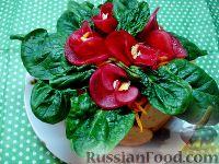 "Фото к рецепту: Салат ""Корзина с фиалками"""