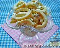 Фото к рецепту: Салат с кальмарами