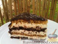 Фото к рецепту: Торт «Птичье молоко»