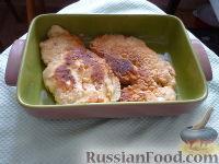 Фото к рецепту: Нежные куриные отбивные в кляре