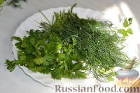 Фото приготовления рецепта: Салат из пекинской капусты с яблоком и морковью - шаг №10