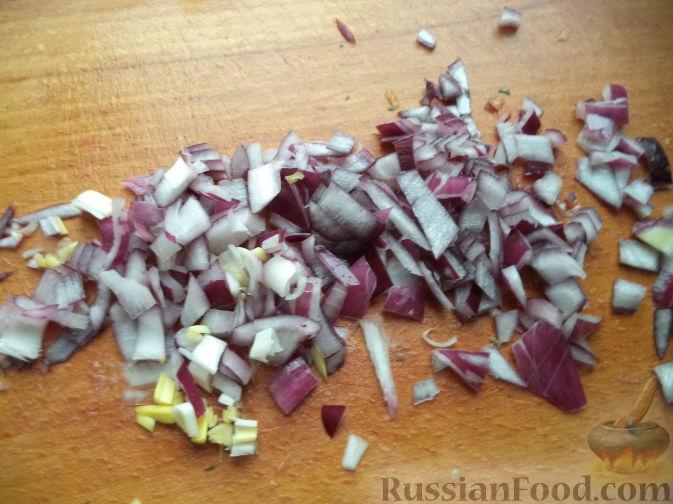 """Фото приготовления рецепта: Вегетарианский оливье """"Любимый"""" - шаг №7"""
