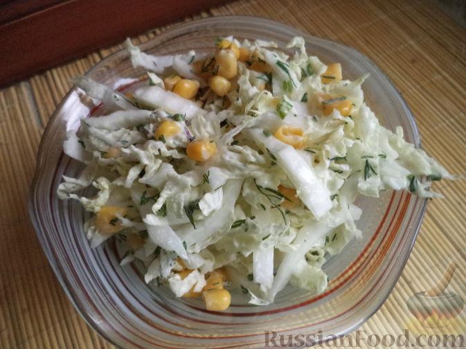 """Фото приготовления рецепта: Мясной салат """"Король в гневе"""" - шаг №2"""