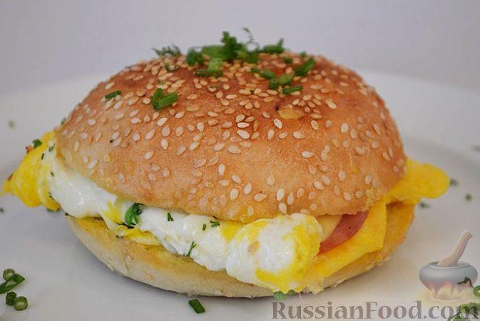 Завтрак на быструю руку рецепт с фото