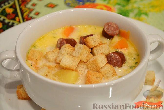 рецепт вкусного супа из колбасы и мяса капченого