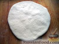 Фото к рецепту: Тесто бездрожжевое на сметане (для лепешек)