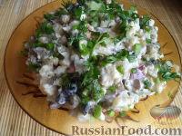 """Фото к рецепту: Вегетарианский оливье """"Любимый"""""""