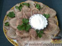 Фото приготовления рецепта: Язык отварной - шаг №7