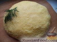 Фото к рецепту: Мамалыга скоростная (скороспелая)