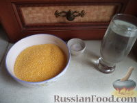 Фото приготовления рецепта: Мамалыга скоростная (скороспелая) - шаг №1
