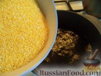 Фото приготовления рецепта: Мамалыга скоростная (скороспелая) - шаг №3