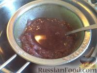 Фото приготовления рецепта: Морс из клюквы - шаг №3