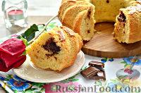 Фото к рецепту: Кекс с кусочками шоколада