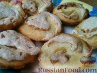 Фото к рецепту: Печенье из творожного и воздушного теста