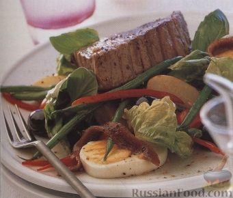 Рецепт Картофельный салат с тунцом
