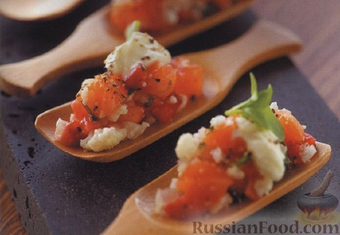 Рецепт Закуска лососевая
