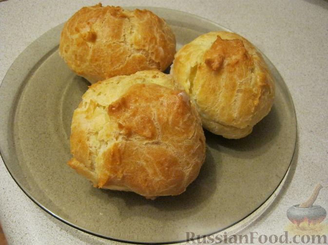 рецепт пирожного эклеры