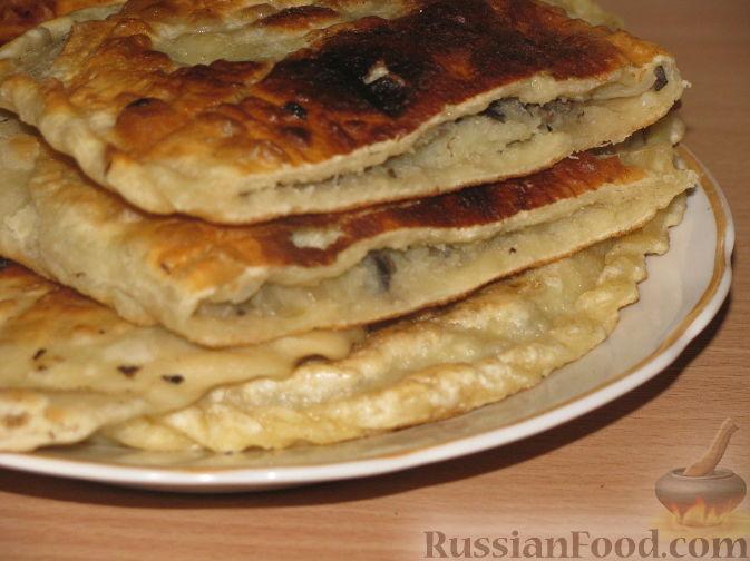 Рецепт Жареные пирожки с картофелем и шампиньонами
