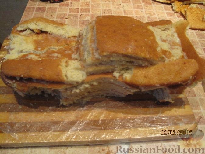 Торт маквин пошагово с