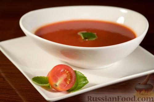 Рецепт Томатный острый суп