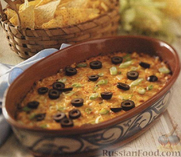 Рецепт Кукурузная запеканка с сыром и чили