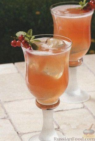 Рецепт Клюквенный коктейль
