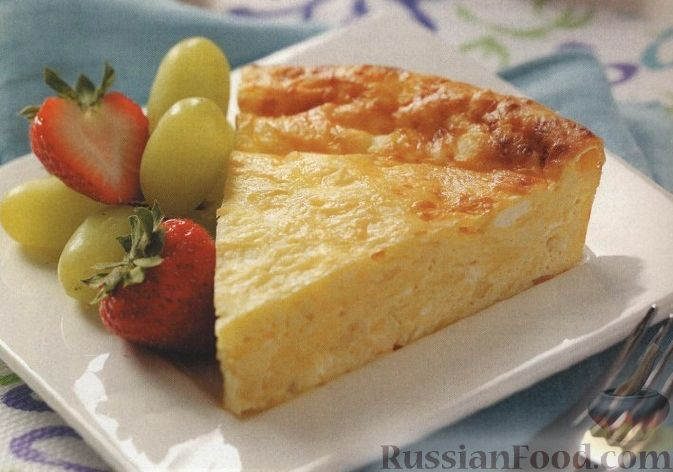 рецепт пирог сырный с фото