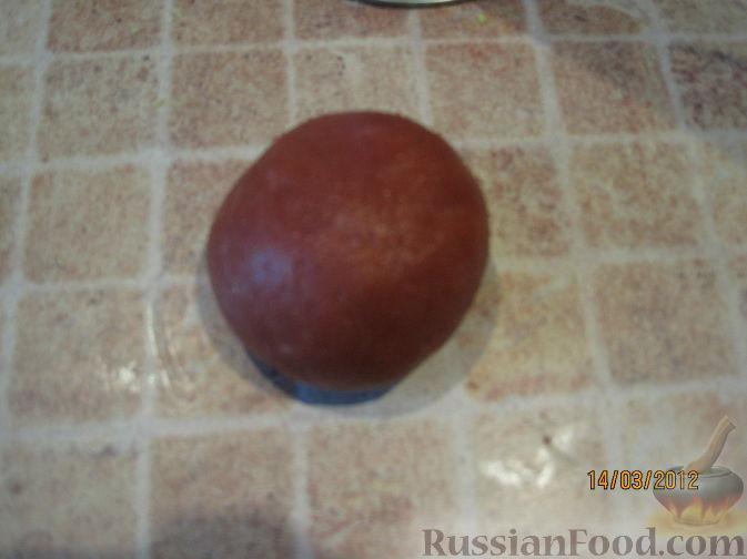 Как сделать коричневую мастику