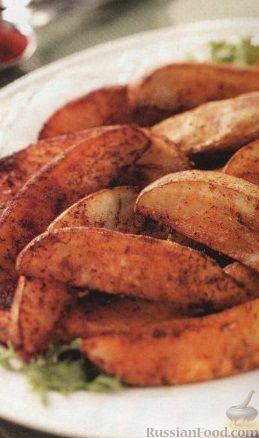 Рецепт Картофель, запеченный со специями