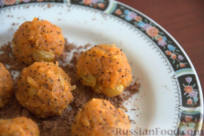 Рецепт Морковные сладкие шарики